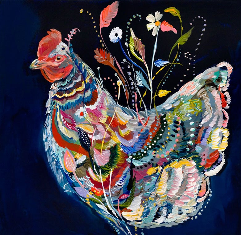 """Hen"" Click on the picture for Limited Edition Print."
