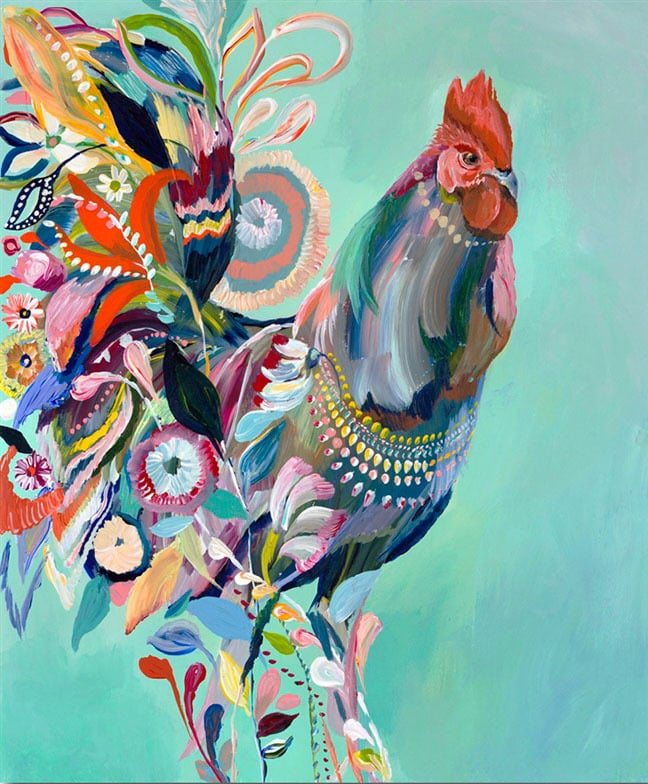 """Rooster"" Click on the picture for Limited Edition Print."