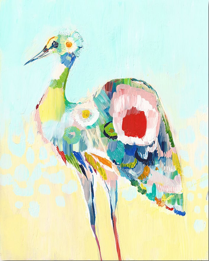 """Stork"" Click on the picture for Limited Edition Print."