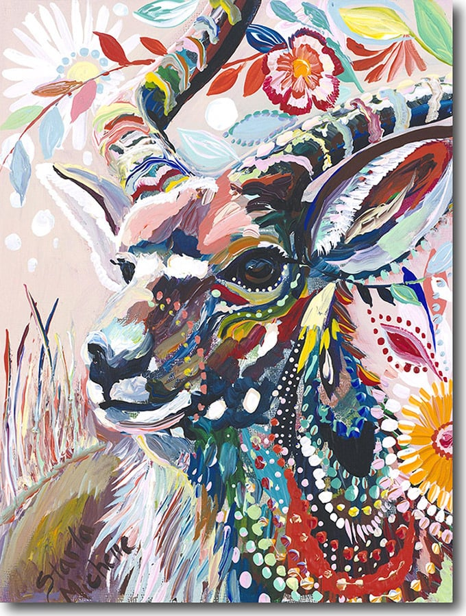 """N for Nyala""    Click on the picture   for a Limited   Edition Print."