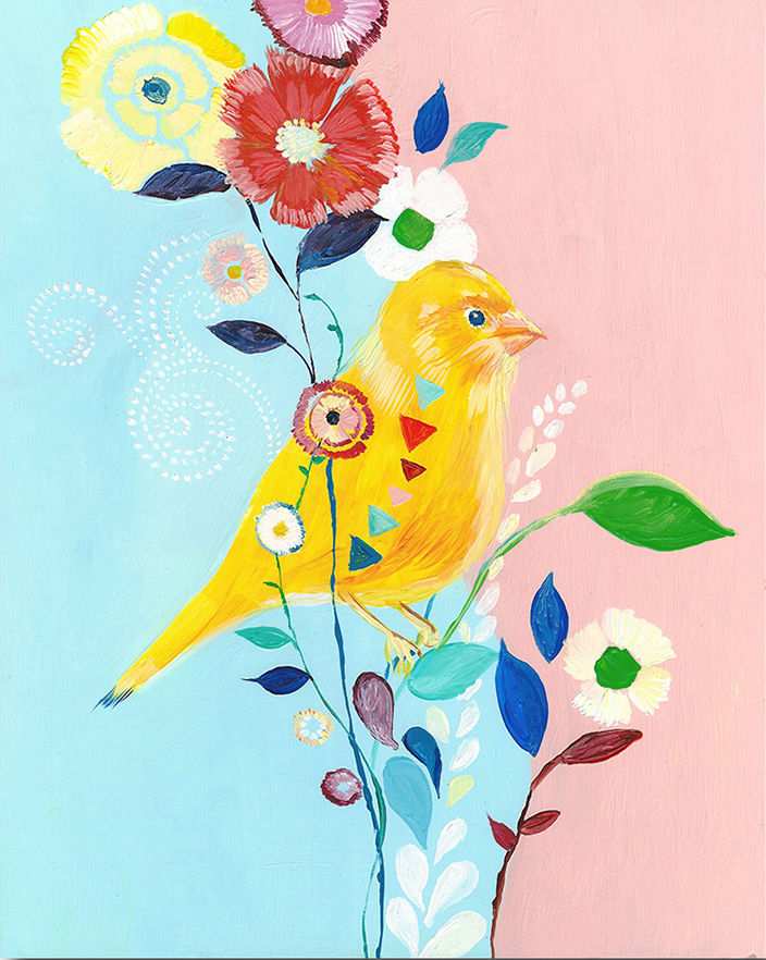 """Canary"" Click on the picture for Limited Edition Print."