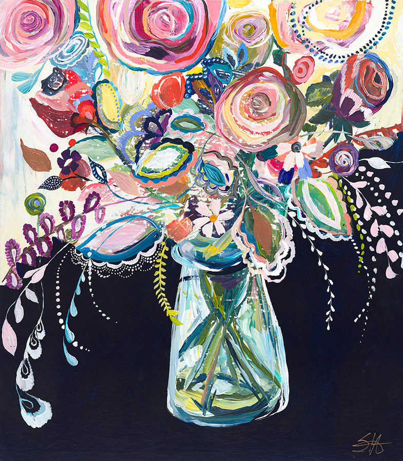 """Celebration Bouquet"" Click on the picture for Limited Edition Print."
