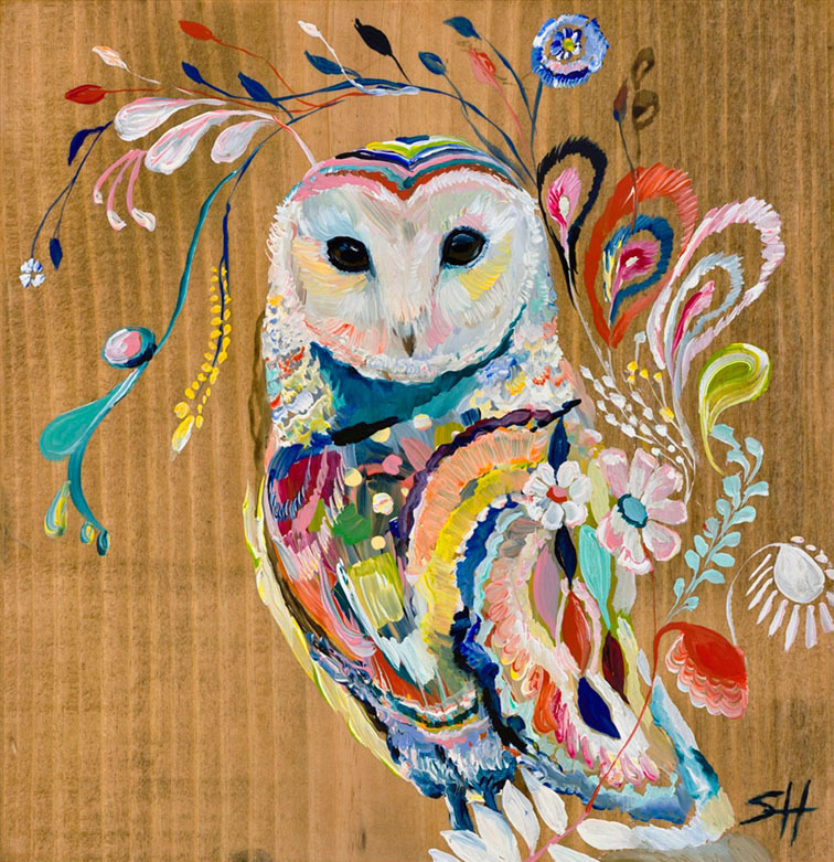 """Mystic Owl"" Click on the picture for Limited Edition Print."