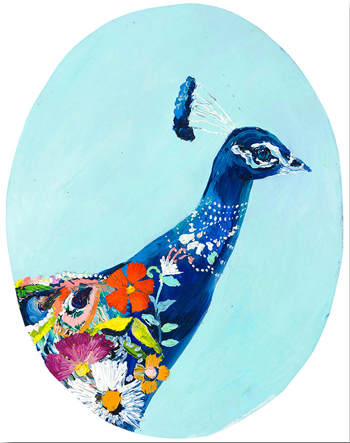 """Peacock Profile"" Click on the picture for Limited Edition Print."