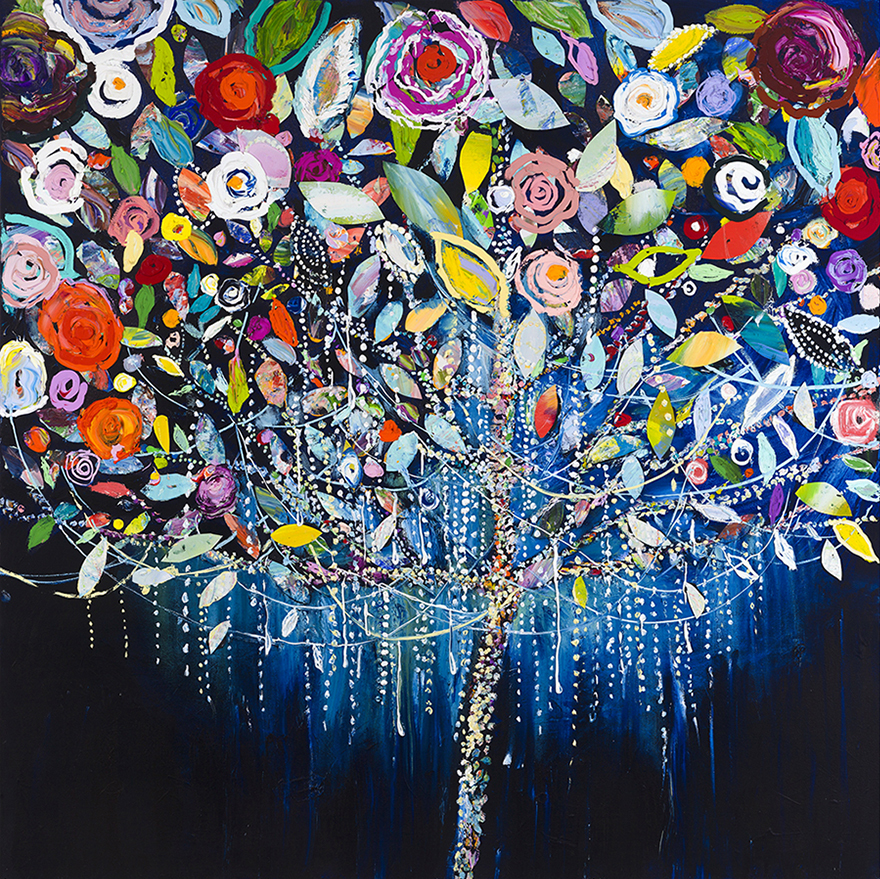 """Tree of Lights""  Click on the picture for Limited Edition Print."