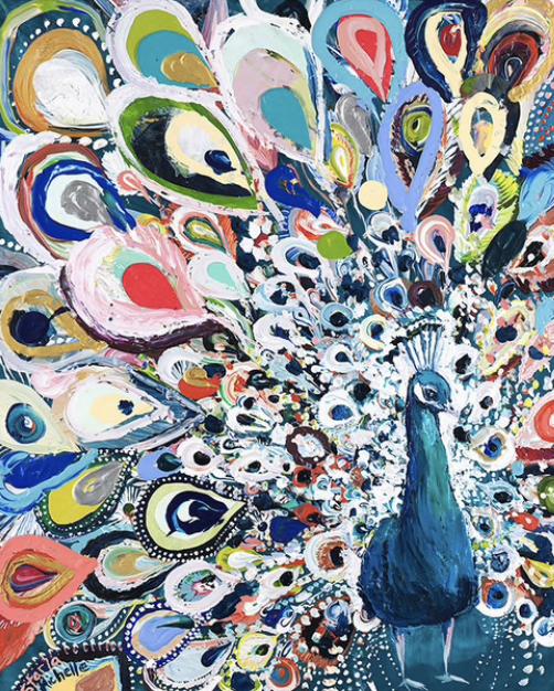 """""""Peacock Rainbow"""""""