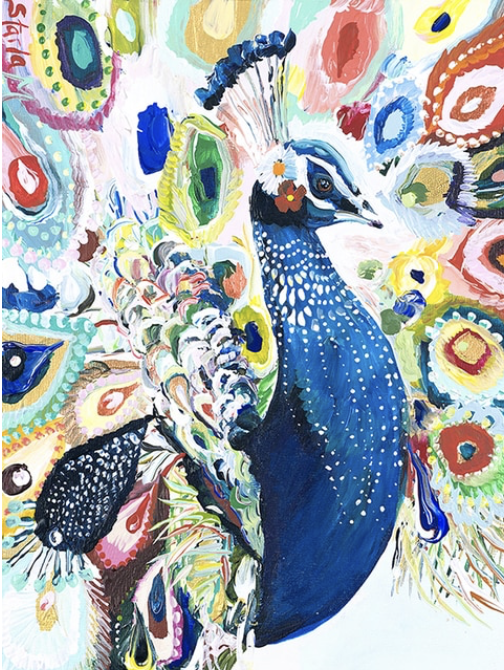 """""""P for Peacock"""""""