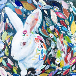 """Bunny in Wonderland"""