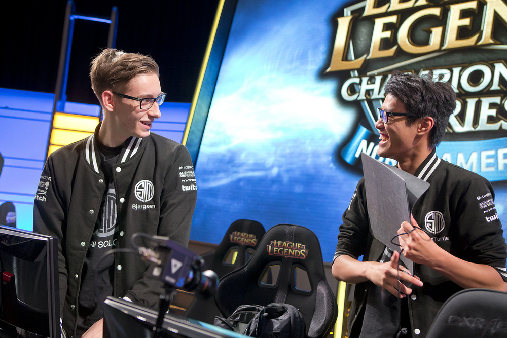 Bjergsen and Wildturtle, the offensive threats from TSM. source