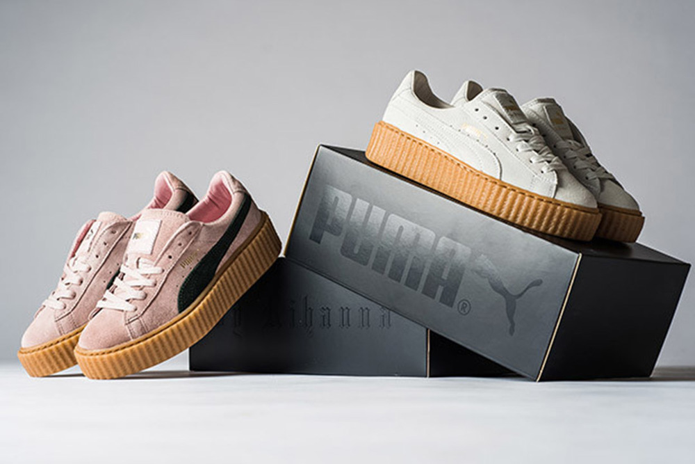 Puma x Rihanna Creeper: Pink/Gumsole
