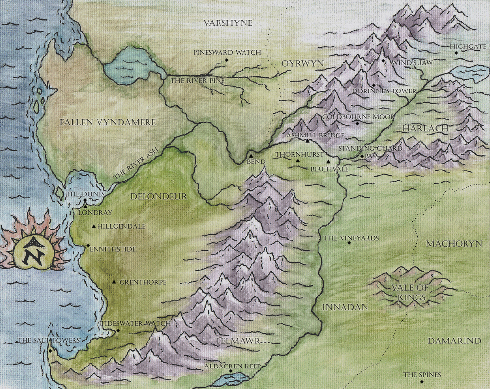 Full-color map of the Baronies (click for larger version)