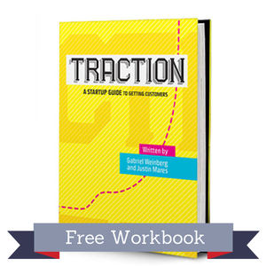 "The Traction workbook by Gabriel Weinberg and Justin Mares introduces the ""Bullseye Framework,"" a five-step process successful companies use to get more customers. This workbook with help you find the right marketing channel to unlock your next stage of growth."