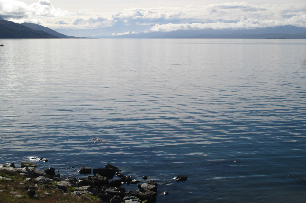 Beagle Channel, separating Argentina and Chile & connecting Atlantic to Pacific