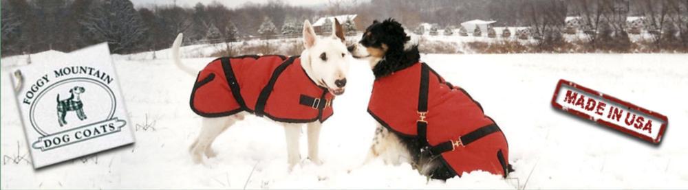 Foggy Mountain Dog Coats - SEO, copywriting, and copyediting for wholesale dog coat manufacturer.
