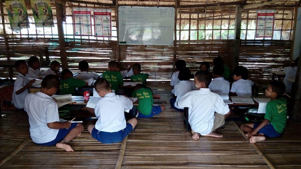 泰緬邊境緬甸移工學校 New Wave Learning Center 新浪潮小學。