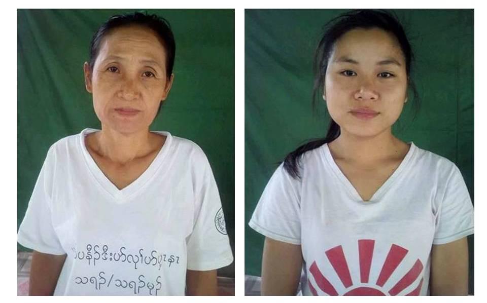 Glocal Action 資助的 Naw Klay Paw 老師和Naw Khu Htee Paw 老師。