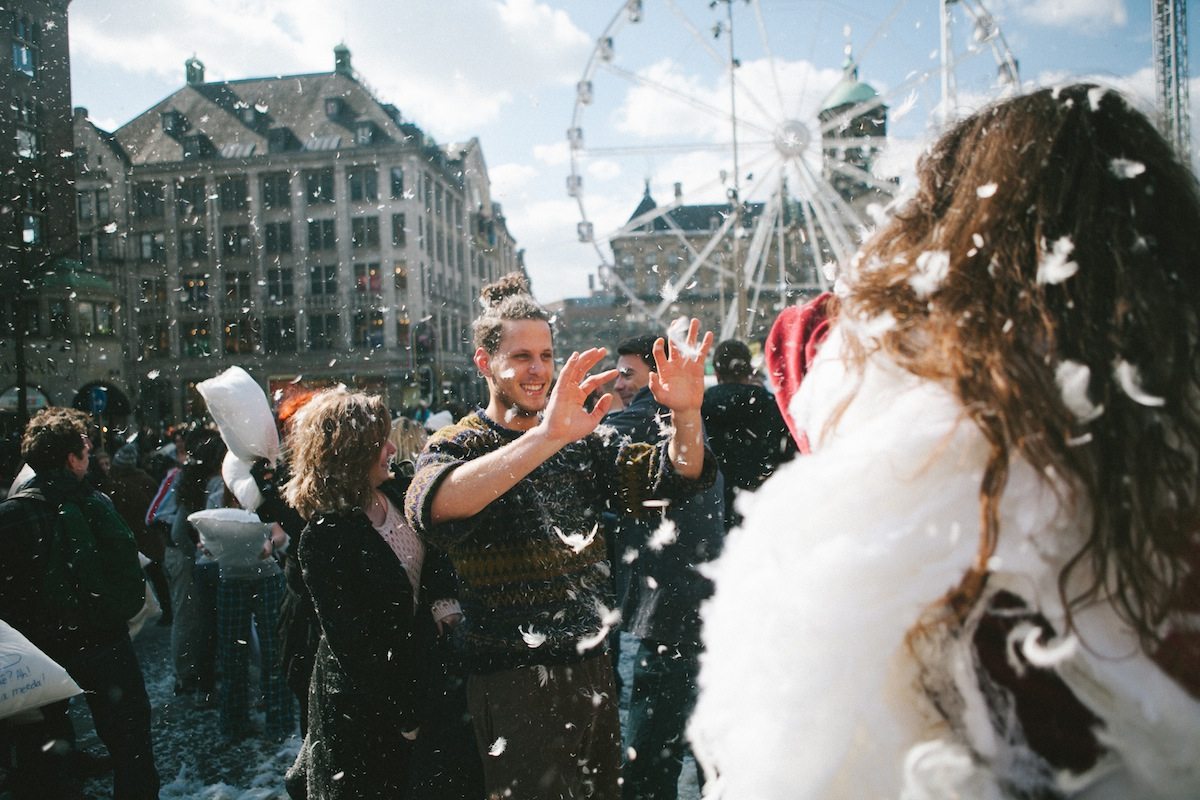 Amsterdam Pillow Fight