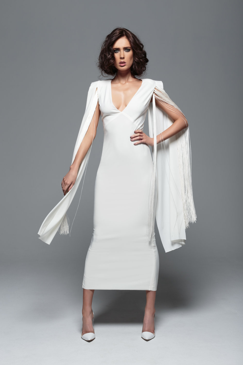 Rhythm Open Sleeve Dress