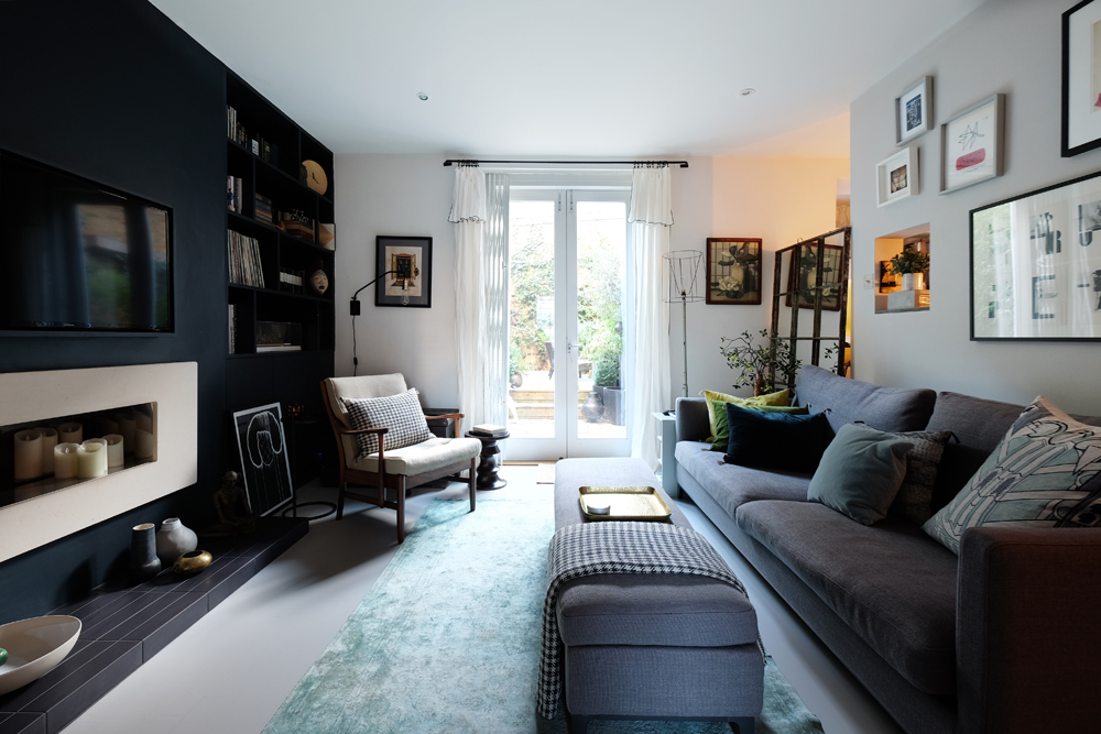 an Interior designer's home in north london