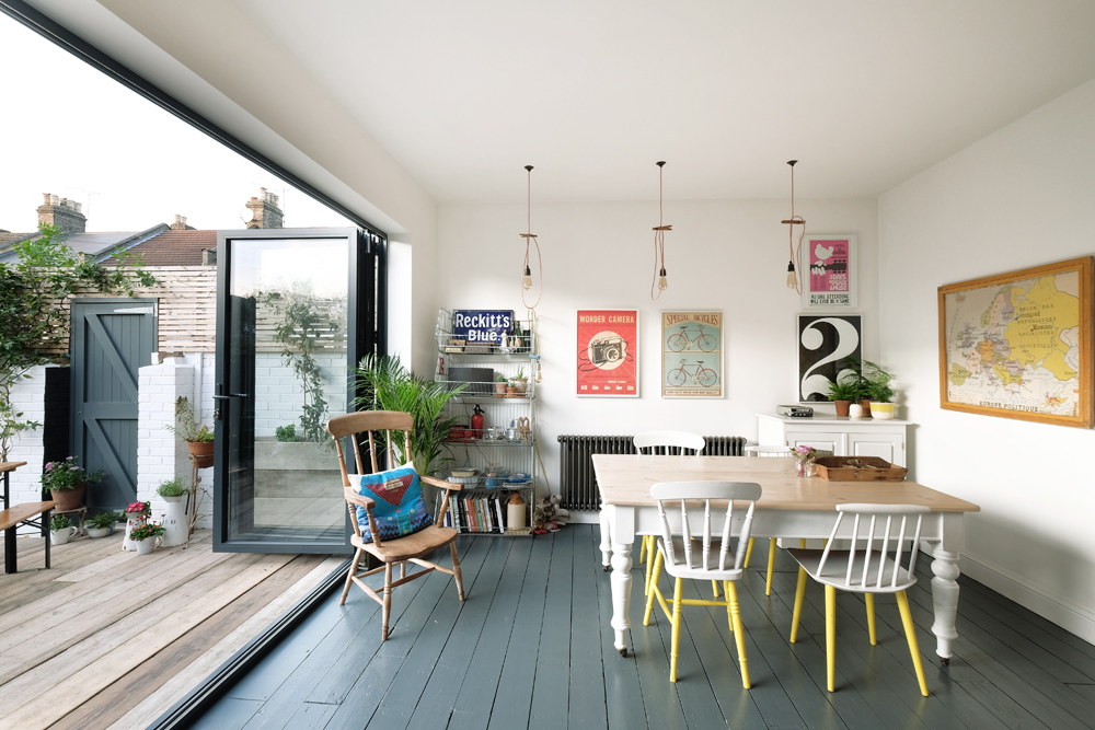 A CREATIVE PRODUCER'S HANDMADE HOME IN NORTH LONDON
