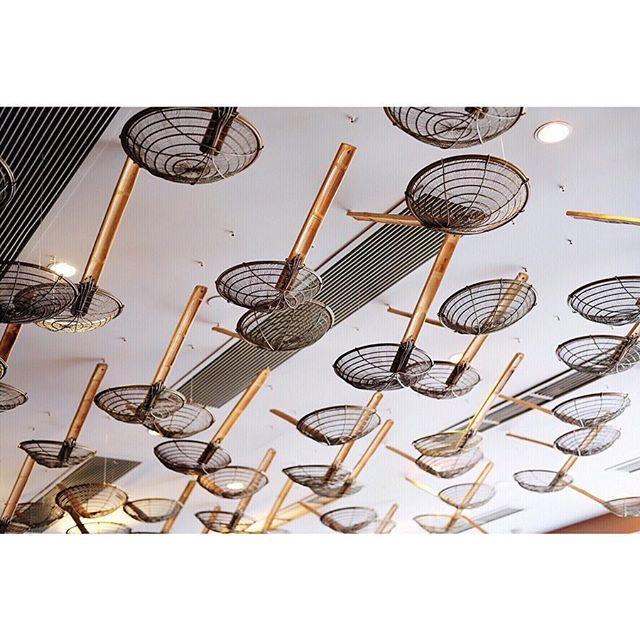 Ceiling ladles