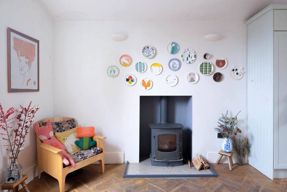editorial  //  Designer Donna Wilson's  East London home