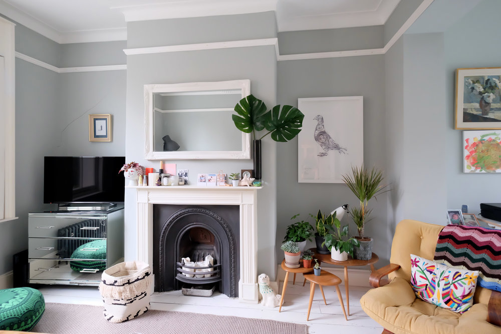 Editorial  //  A fashion blogger's home in North London