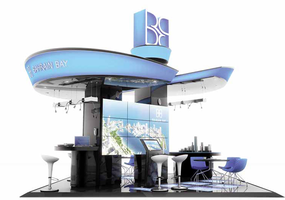 Cityscape, Dubai. Stand Design for Bahrain Bay.