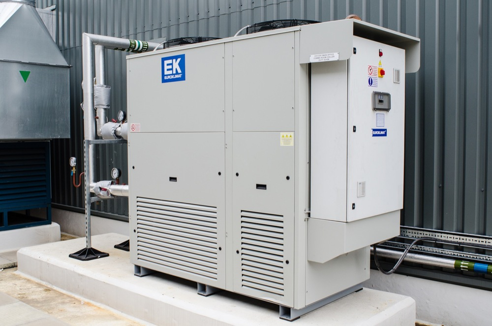 Hydrocardon R290 water chiller - Waitrose distribution centre