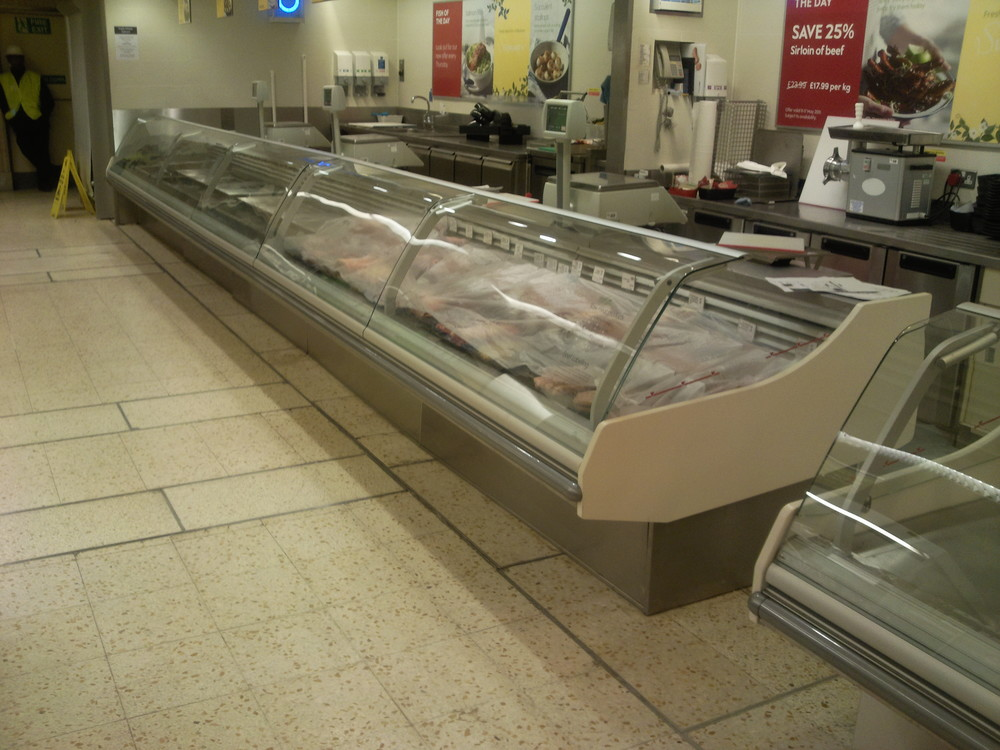 Counter AFTER  refurbishment on site