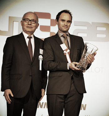 Xloudia's Nicolas Loeillot receives Innovation Award from Paris Club's President