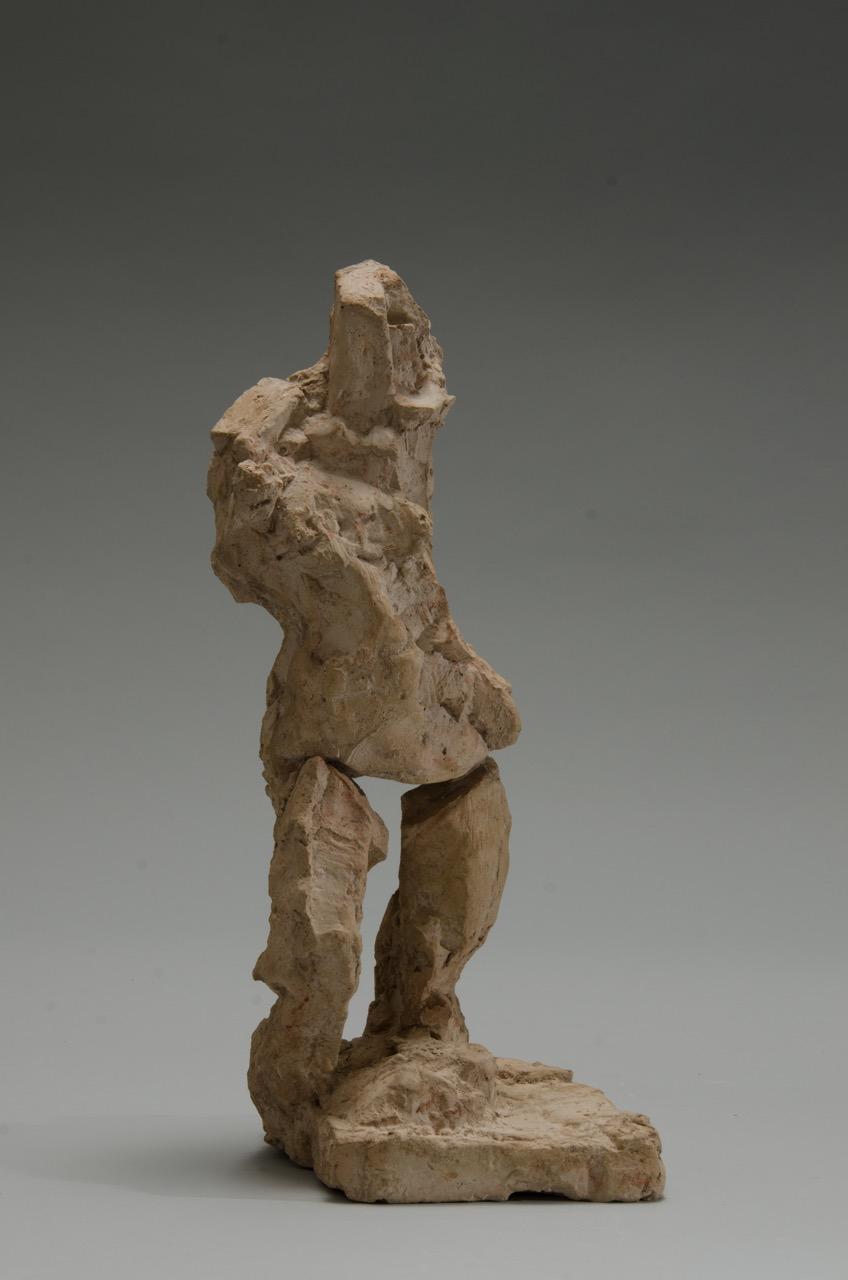Woman #0615, 2006, Plaster, 17.5x5x4 in. 45Hx13Wx10D cm.jpeg