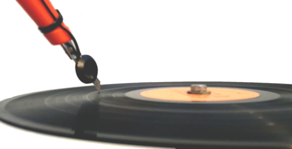 אדר גולדפרב, Cutting Edge Music, סכין יפנית, מברגה, מגבר ותקליט, גודל משתנה, 2016