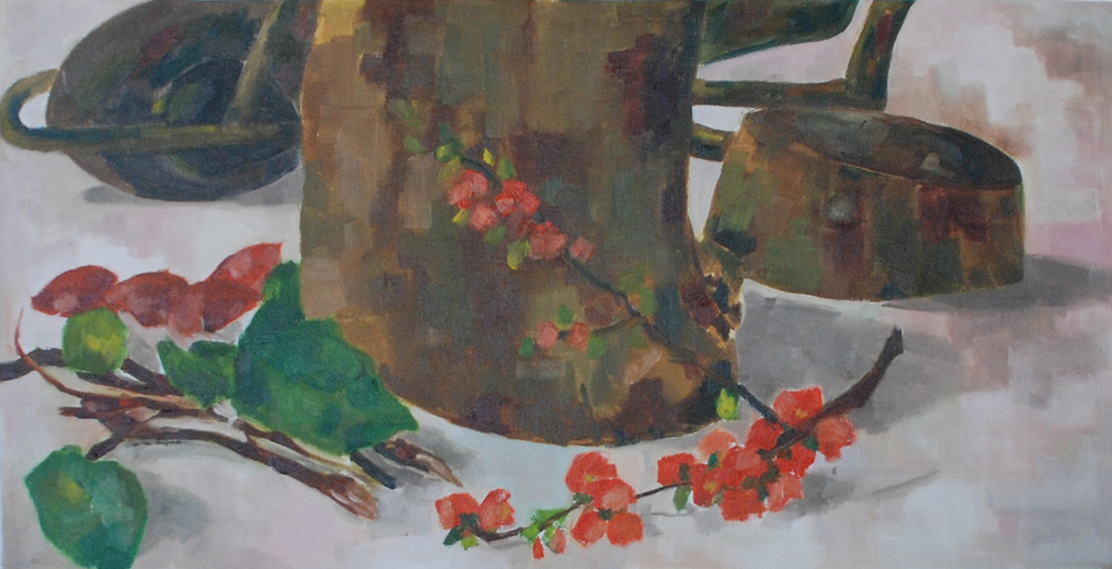 Oil on canvas, 30*60 cm, 2005