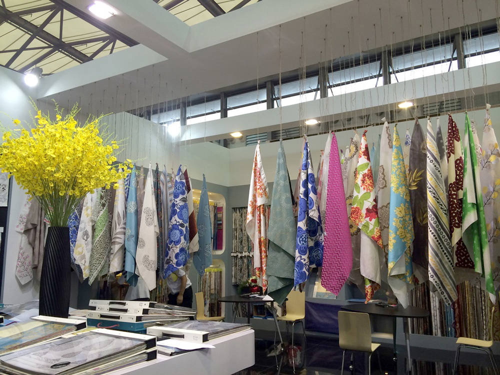 Booth Display at Intertextile Shanghai, 2014