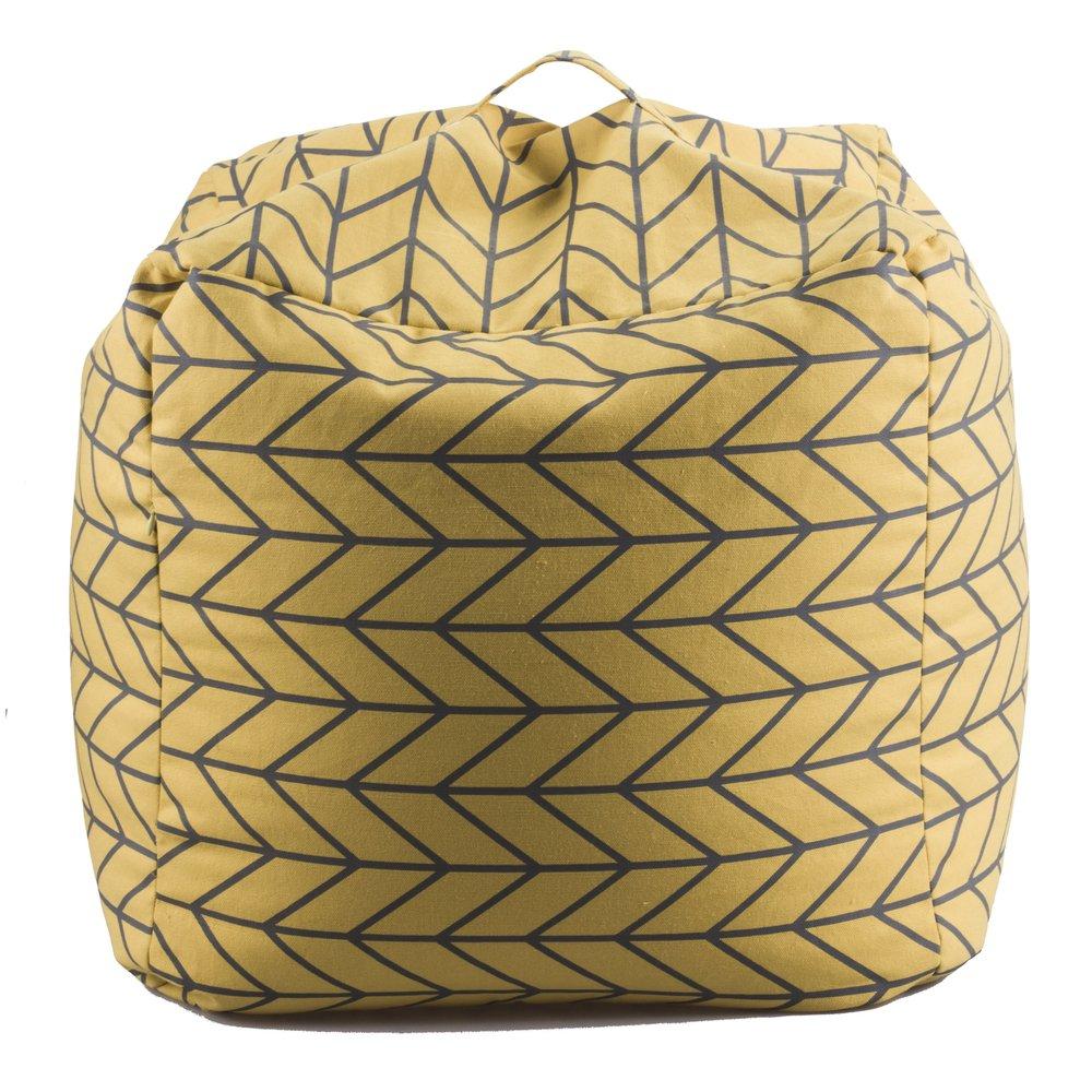 14 Karat Home Inc. Geometric Bean Bag Chair