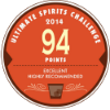Médaille 194 points – Finalist, Ultimate Spirits Challenge 2014, USA