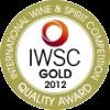 IWSC, Gold Medal 2012