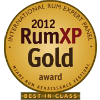 Gold Medal, RumXPCompetition 2015, USA
