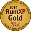 Gold Medal - Best in Class, Rum XPCompetition 2014, USA