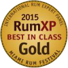 Gold Medal - Best in class, Rum XPCompetition 2015, USA
