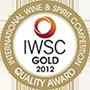 Gold Medal, HKIWSC 2014