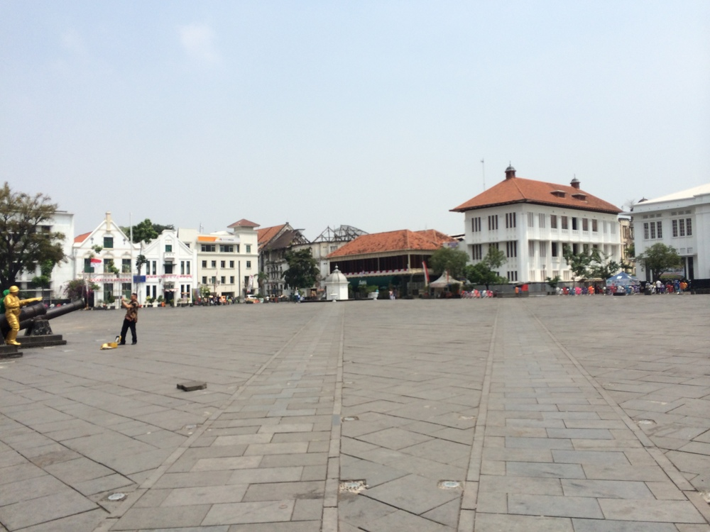 Taman Fatahillah Square, Old Town