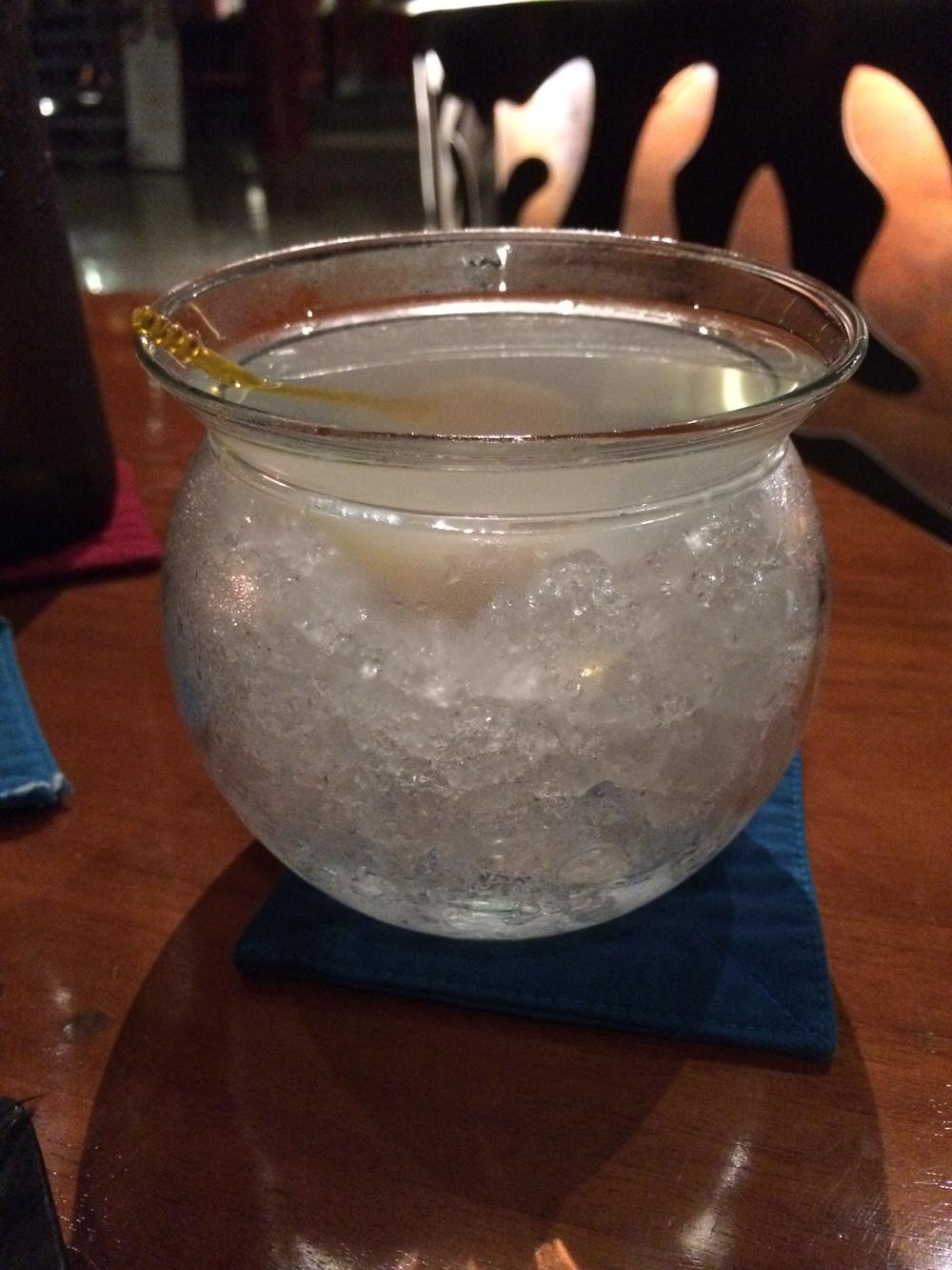 Lychee Martini at Lamak