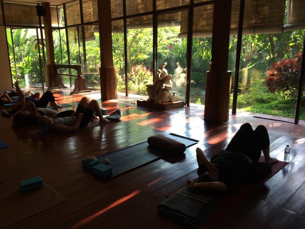 Yoga Barn, Ubud, Bali