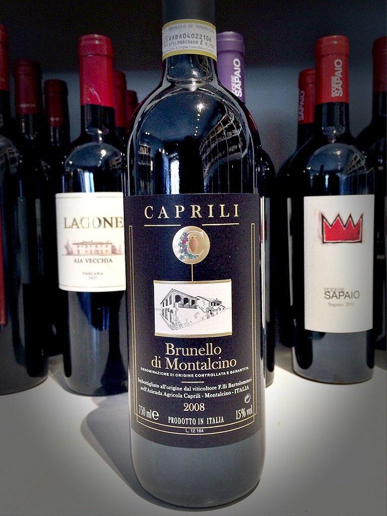 CapriliBrunello di Montalcino 2008 - $45