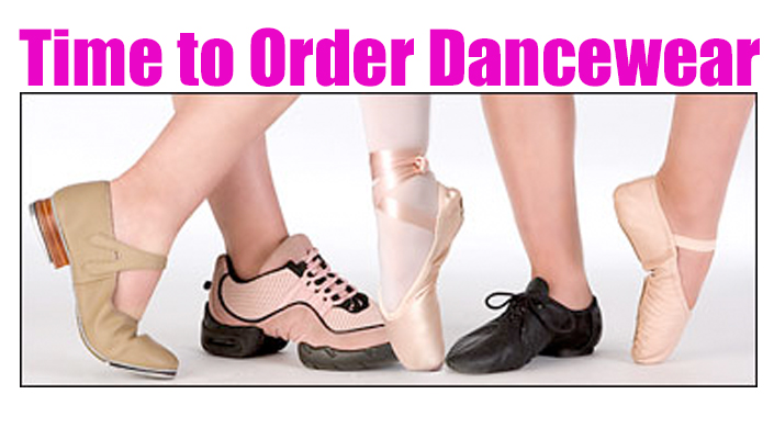 Order Your Dancewear Today!