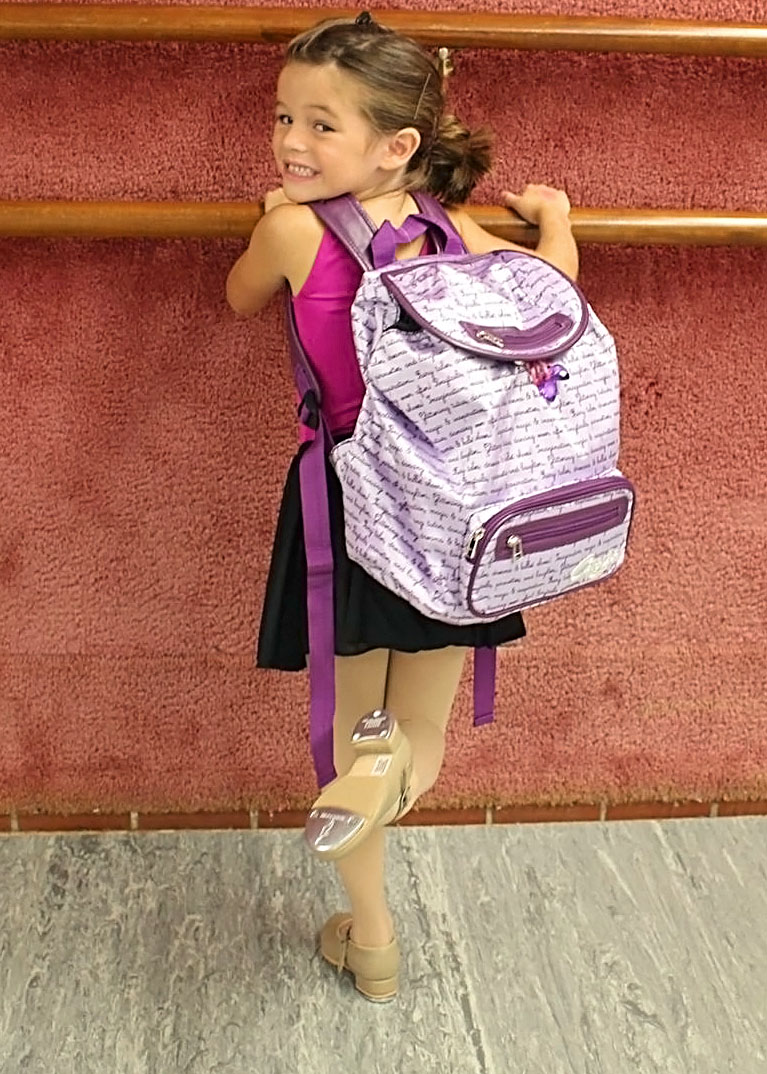 Dancers Backpack - Purple