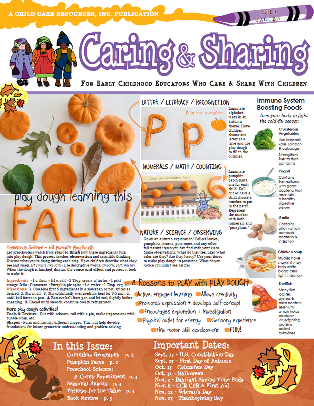CCR Caring&Sharing Fall 2014 Edition