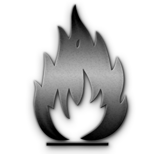 Fire Icon square